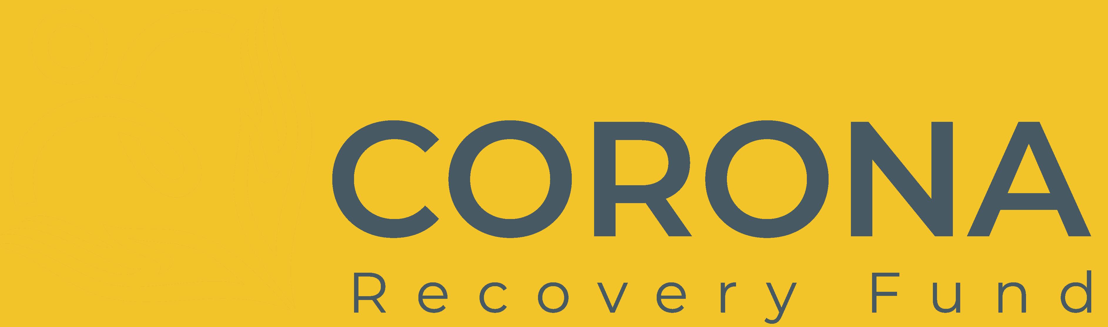Corona Recovery fund Logo